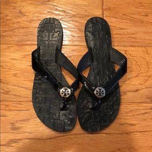 569f5ed2906492 Tory Burch Shoes - Tory Burch Thin Leather Thong Sandal